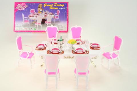 Glorie Jídelní stůl s doplňky