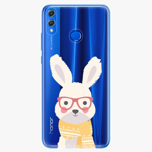 Silikonové pouzdro iSaprio - Smart Rabbit - Huawei Honor 8X