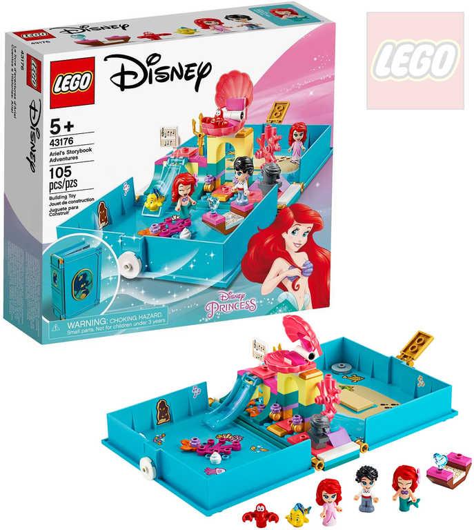 LEGO PRINCESS Ariel a její pohádková kniha dobrodružství 43176 STAVEBNICE
