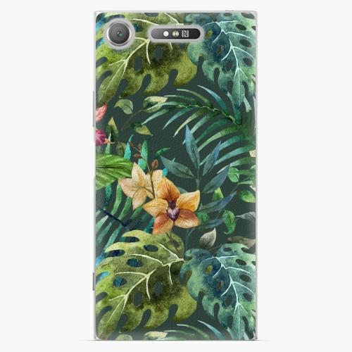Plastový kryt iSaprio - Tropical Green 02 - Sony Xperia XZ1