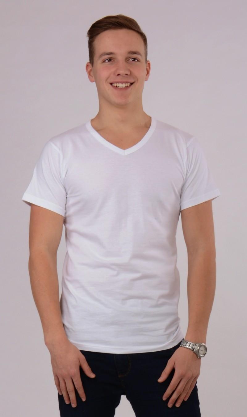Pánské tričko Josef - Bílá S