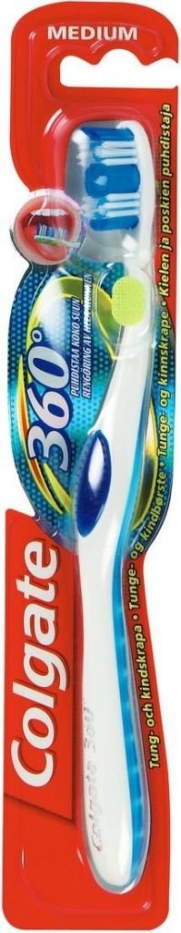 360 Degree Medium zubní kartáček střední