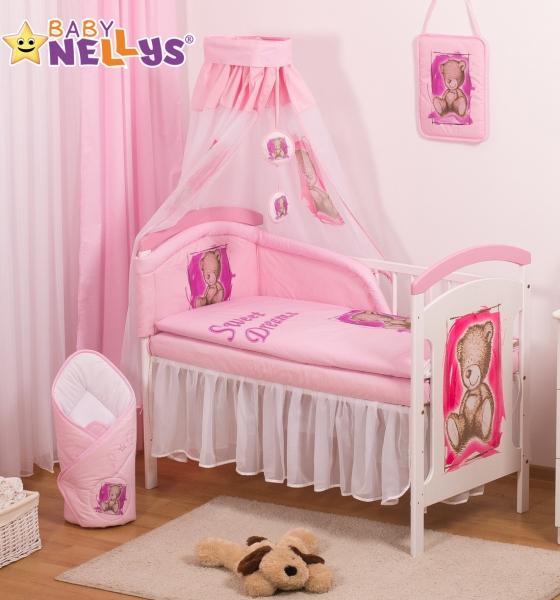 Šifónová nebesa Sweet Dreams by TEDDY - růžové/bílé