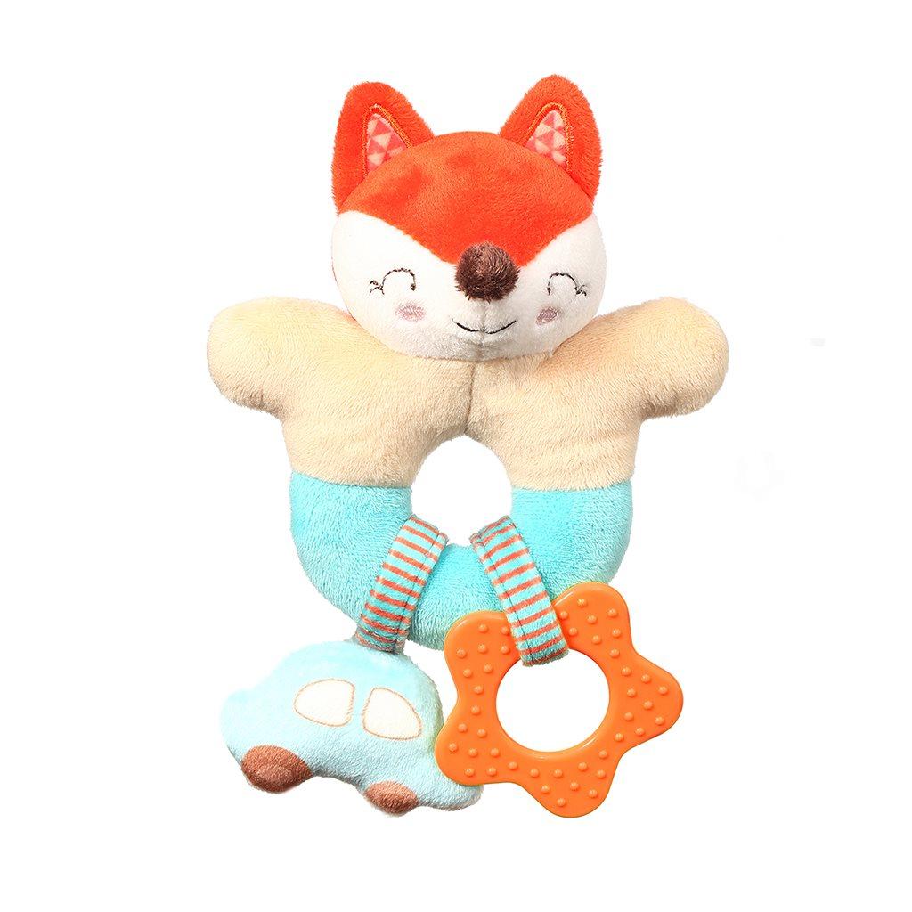 Chrastítko Baby Ono Fox Vincent - oranžová
