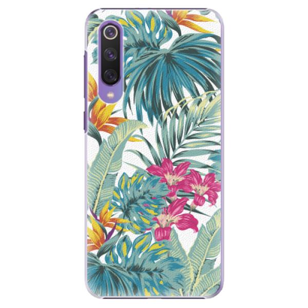 Plastové pouzdro iSaprio - Tropical White 03 - Xiaomi Mi 9 SE