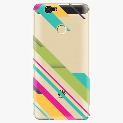 Plastový kryt iSaprio - Color Stripes 03 - Huawei Nova