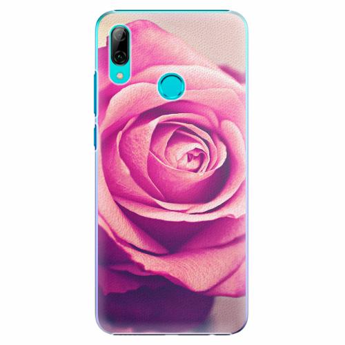 Plastový kryt iSaprio - Pink Rose - Huawei P Smart 2019