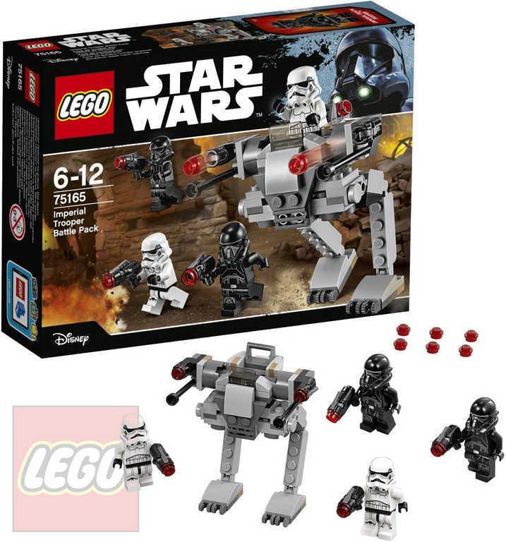 LEGO STAR WARS Bitevní balíček vojáků Impéria 75165 STAVEBNICE