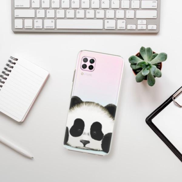 Plastové pouzdro iSaprio - Sad Panda - Huawei P40 Lite