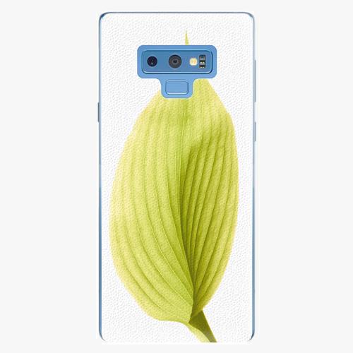 Plastový kryt iSaprio - Green Leaf - Samsung Galaxy Note 9