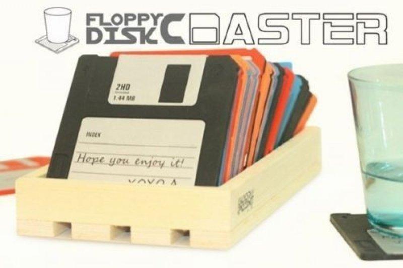 Sada podtácků - diskety