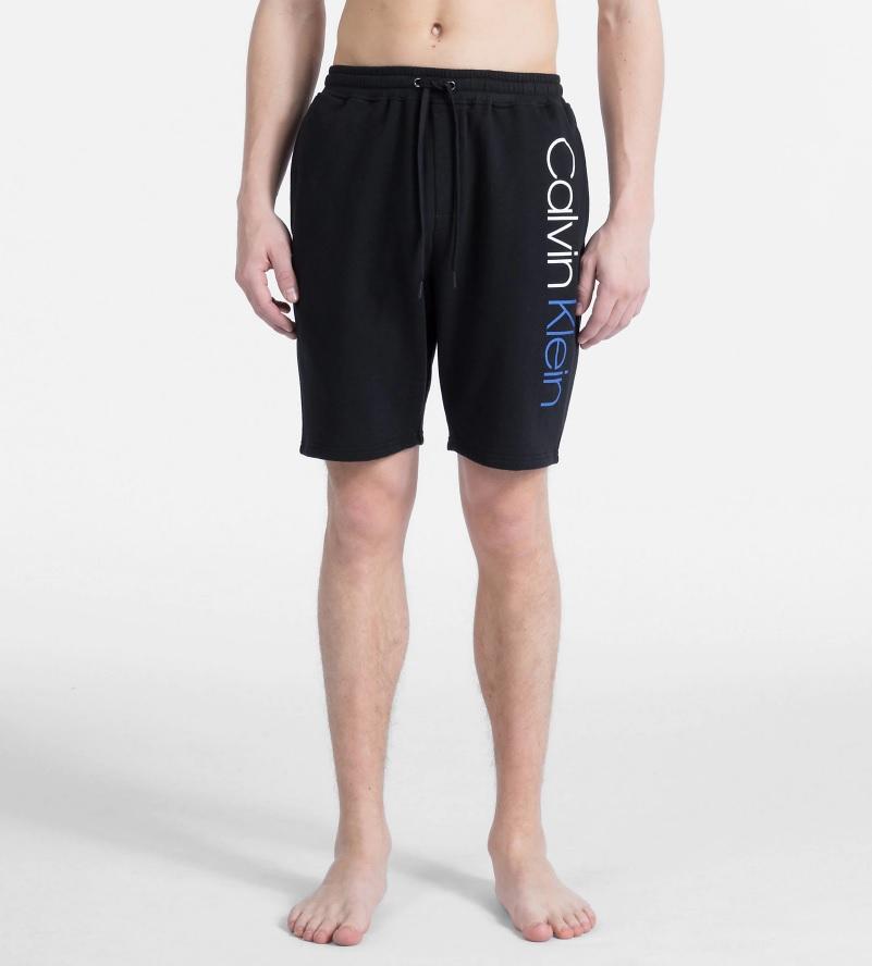 Pánské šortky na spaní NM1611E-001 černá - Calvin Klein