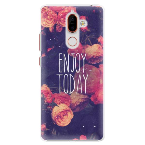 Plastové pouzdro iSaprio - Enjoy Today - Nokia 7 Plus