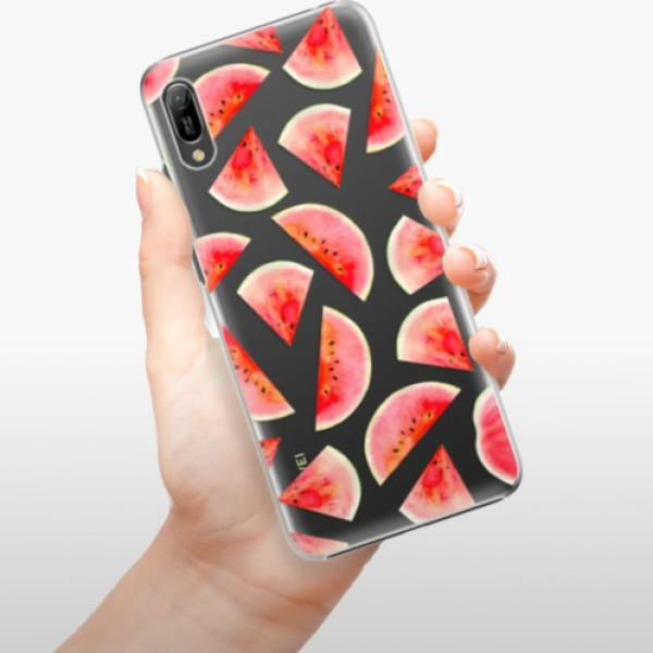 Plastové pouzdro iSaprio - Melon Pattern 02 - Huawei Y6 2019