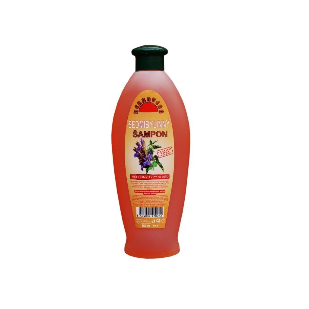 Sedmibylinný šampon na všechny typy vlasů 550 ml