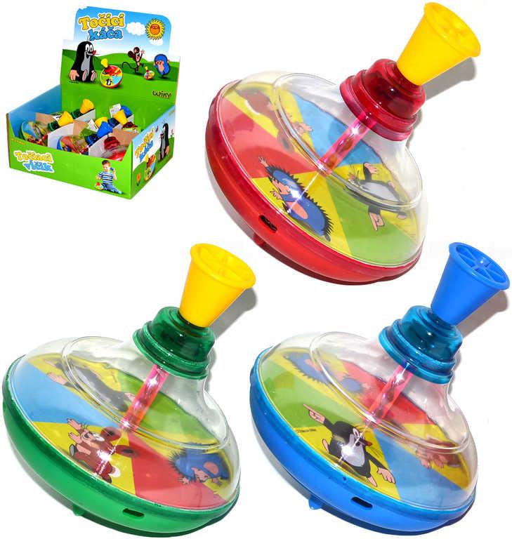 Káča dětská malá KRTEK (Krteček) 3 barvy plastová