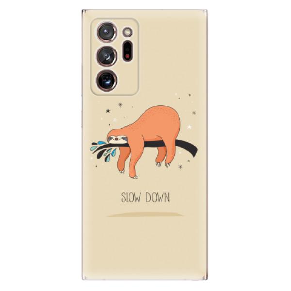 Odolné silikonové pouzdro iSaprio - Slow Down - Samsung Galaxy Note 20 Ultra