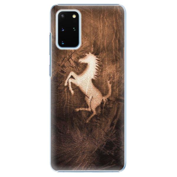 Plastové pouzdro iSaprio - Vintage Horse - Samsung Galaxy S20+