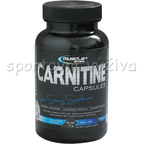 Carnitine 680mg 90 kapslí