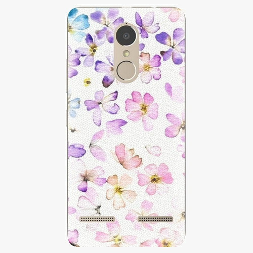 Plastový kryt iSaprio - Wildflowers - Lenovo K6