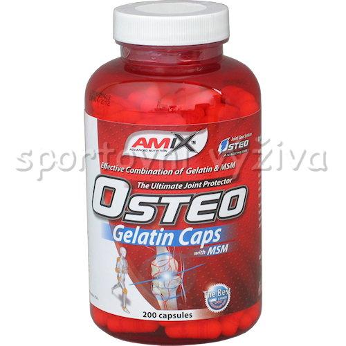OsteoGelatin + MSM 200 kapslí