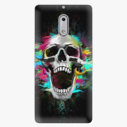 Plastový kryt iSaprio - Skull in Colors - Nokia 6