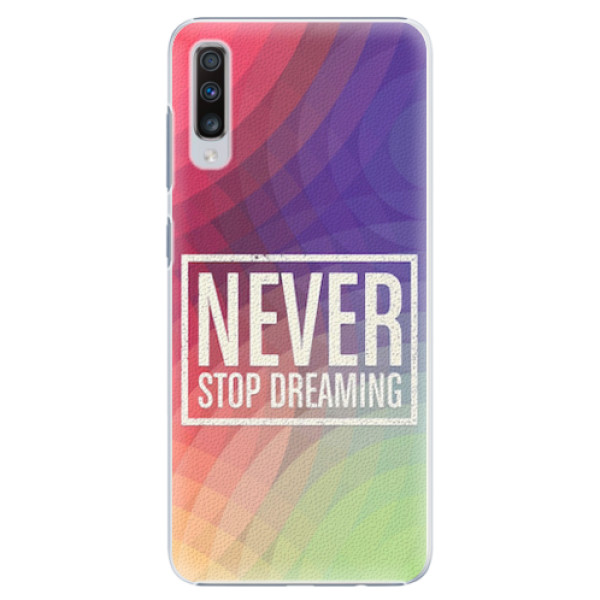 Plastové pouzdro iSaprio - Dreaming - Samsung Galaxy A70