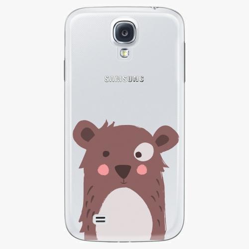 Plastový kryt iSaprio - Brown Bear - Samsung Galaxy S4