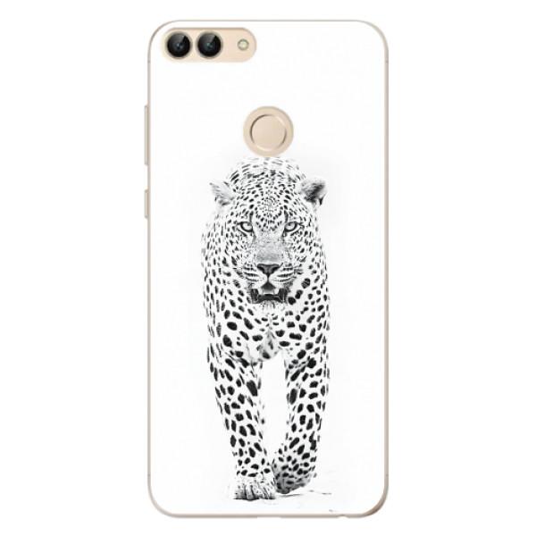 Odolné silikonové pouzdro iSaprio - White Jaguar - Huawei P Smart