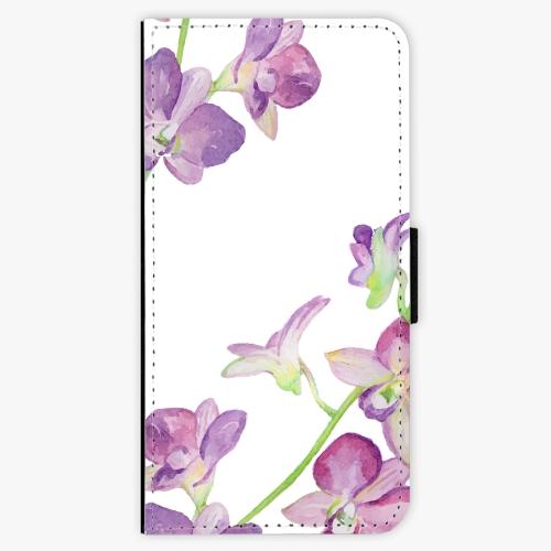 Flipové pouzdro iSaprio - Purple Orchid - iPhone 7 Plus