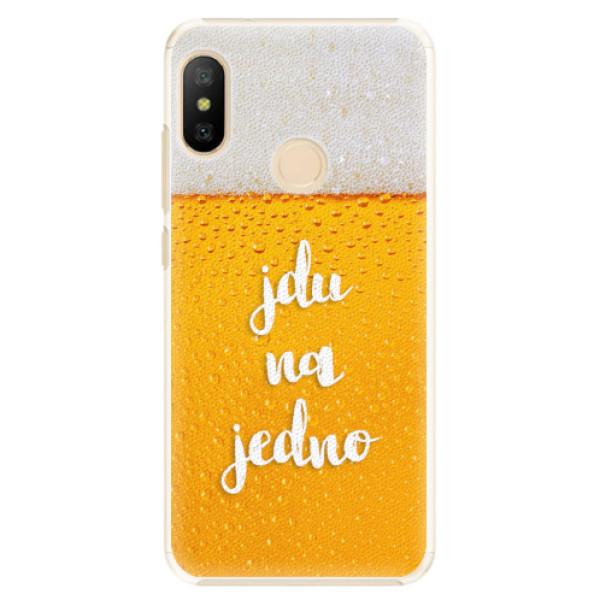 Plastové pouzdro iSaprio - Jdu na jedno - Xiaomi Mi A2 Lite