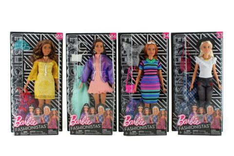 Barbie Modelka s oblečky a doplňky FJF67