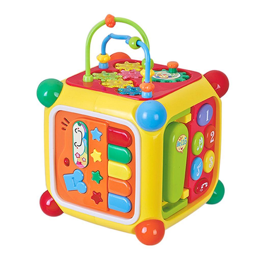 Hrající interaktivní kostka BAYO - multicolor