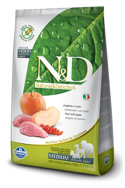 N&D GF DOG Adult Mini Chicken & Pomegranate 2,5kg