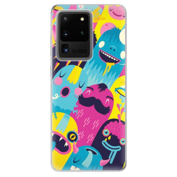 Odolné silikonové pouzdro iSaprio - Monsters - Samsung Galaxy S20 Ultra