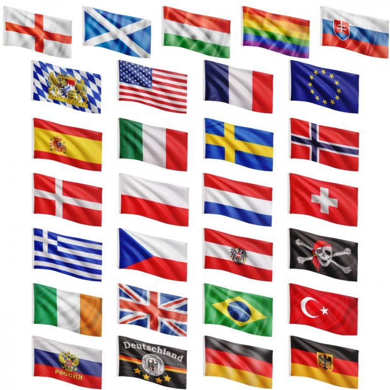 FLAGMASTER® Vlajka duha, 120 x 80 cm
