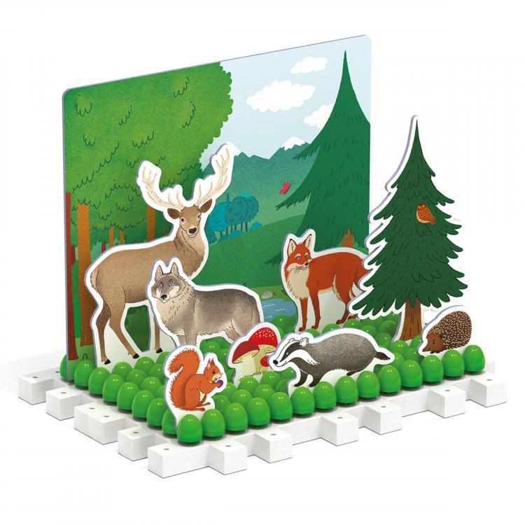 Quercetti Play Habitat sliding puzzle – zasouvací skládačka