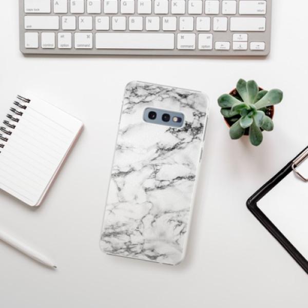 Plastové pouzdro iSaprio - White Marble 01 - Samsung Galaxy S10e