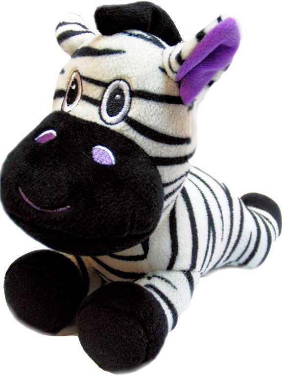 PLYŠ Zebra ležící 20 cm
