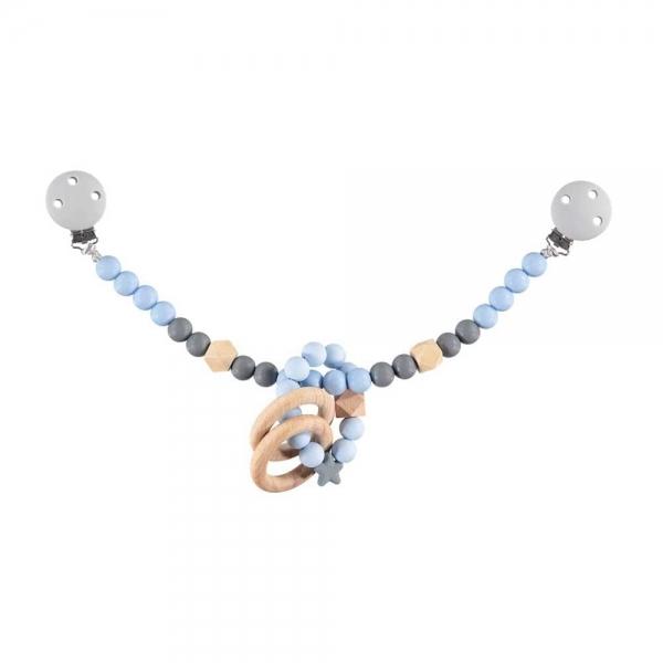 nibbling-silikonovy-retizek-s-kousatkem-na-kocarek-modra-seda