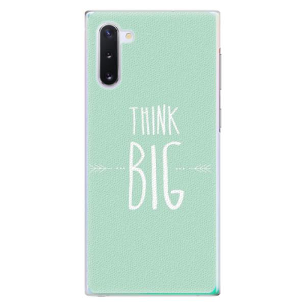 Plastové pouzdro iSaprio - Think Big - Samsung Galaxy Note 10