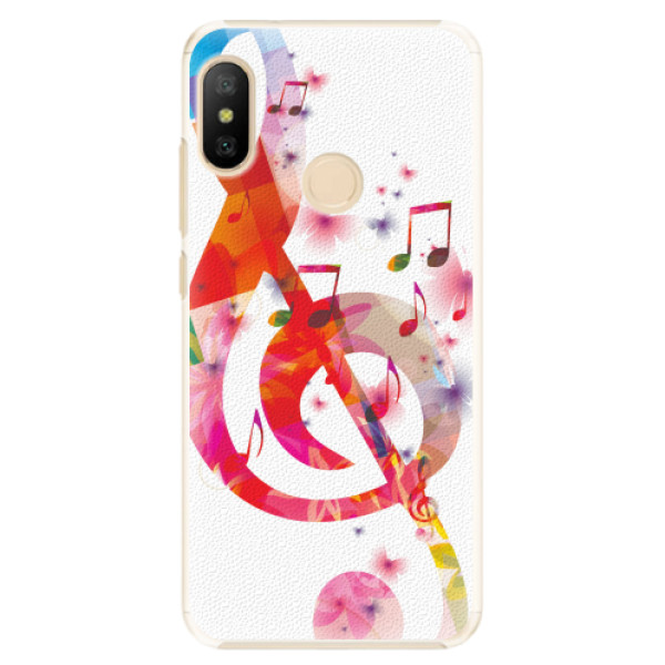 Plastové pouzdro iSaprio - Love Music - Xiaomi Mi A2 Lite