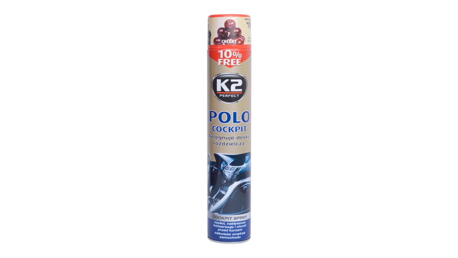 K2 POLO COCKPIT 750ml CHERRY - ochrana vnitřních plastů