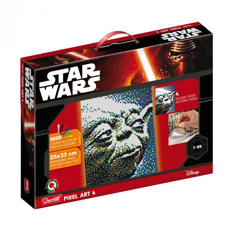 Quercetti Pixel Art 4 Star Wars Yoda 0856