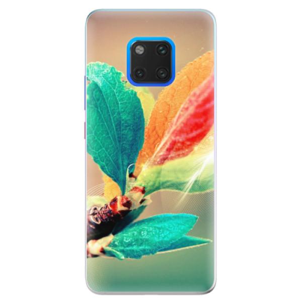 Silikonové pouzdro iSaprio - Autumn 02 - Huawei Mate 20 Pro