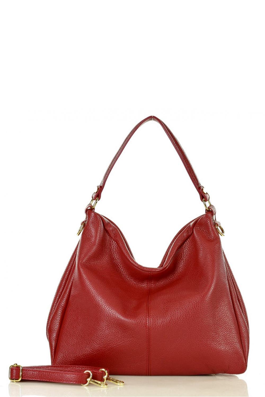 Přírodní kožená taška model 136547 Mazzini - UNI velikost
