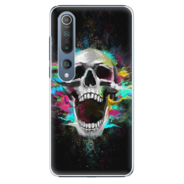 Plastové pouzdro iSaprio - Skull in Colors - Xiaomi Mi 10 / Mi 10 Pro