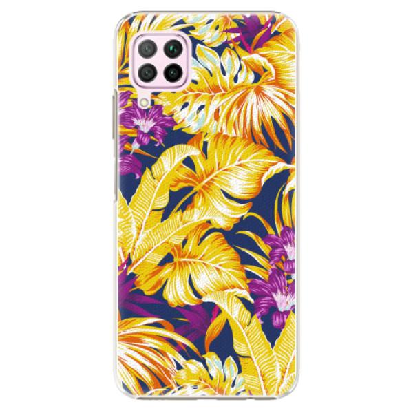 Plastové pouzdro iSaprio - Tropical Orange 04 - Huawei P40 Lite