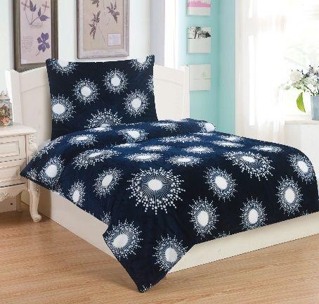 Mikroplyšové ložní prádlo ICE DREAM