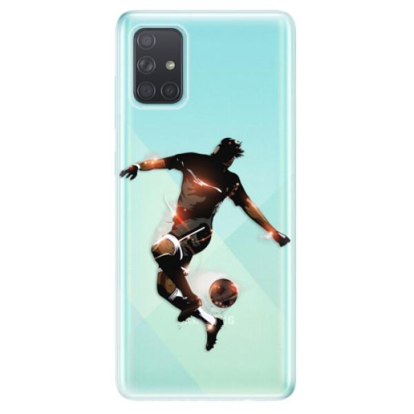 Odolné silikonové pouzdro iSaprio - Fotball 01 - Samsung Galaxy A71